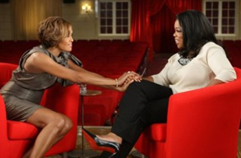Whitney Houston on Oprah - ABC