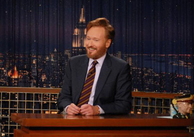 Conan O'Brien on 'The Tonight Show' (NBC)