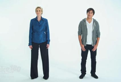 Jane Lynch in iPhone 4 parody ad (Take180.com)