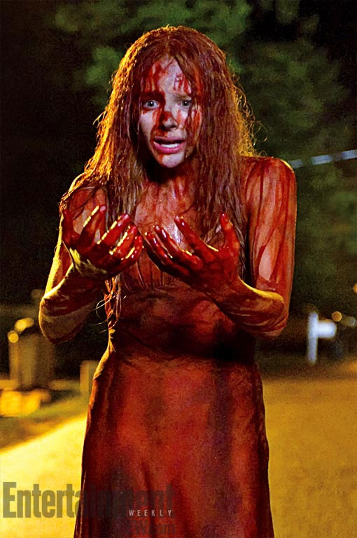 Carrie Remake 2012: First Look At Chloe Moretz As Carrie
