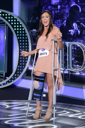 Miss Baton Rouge Megan Miller Auditions For American Idol 2013 (VIDEO)