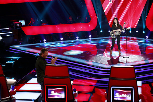 The Voice Season 4 Blind Auditions: Grace Askew Audition (VIDEO)