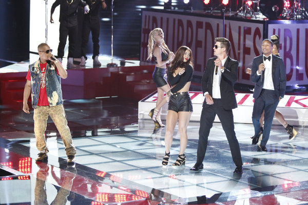 The Voice 2013 Season 4 Spoilers: Robin Thicke Performance (VIDEO)