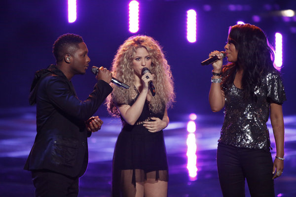 The Voice 2013 Season 4 Spoilers: Team Shakira Performance (VIDEO)