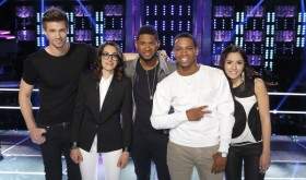 The Voice Season 4 - Team Usher