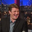 Nathan Fillion on David Letterman 2013