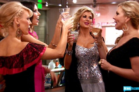 On tonight's Real Housewives of Orange County 2013 the past and