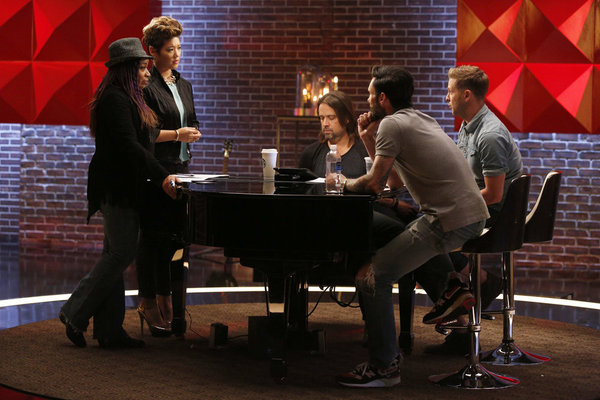 the voice team adam battle reality episode 507 pictured the