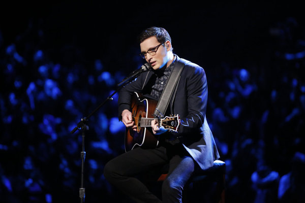 The Voice 2013 Season 5 Spoilers: Top 20 – James Wolpert (VIDEO)