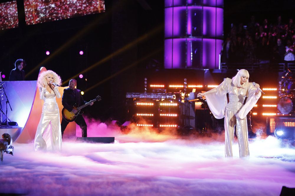 The Voice 2013 Season 5 Spoilers: Lady Gaga and Christina Aguilera (VIDEO)