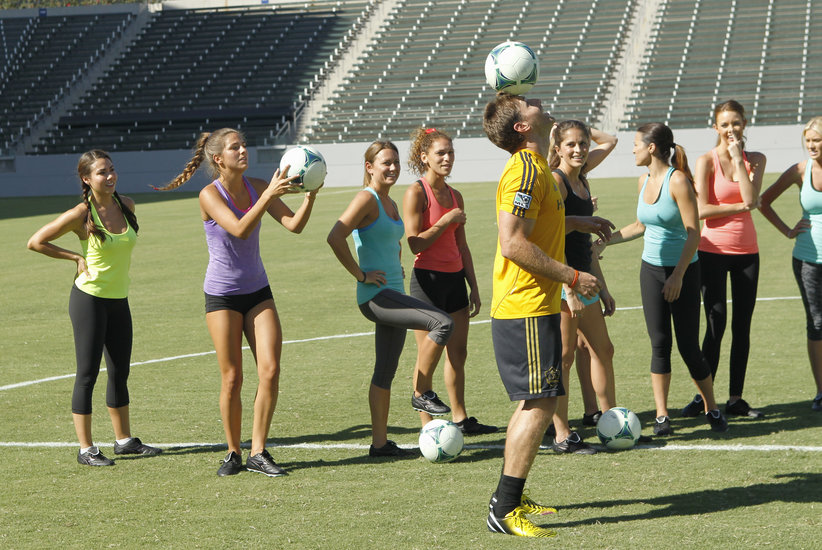 The Bachelor 2014 Live Recap: Week 3 – Time to Play Soccer!