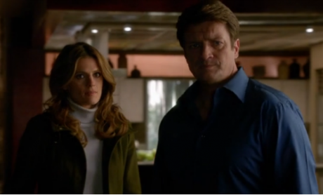 Castle 6x12 Beckett and Castle face his Dad