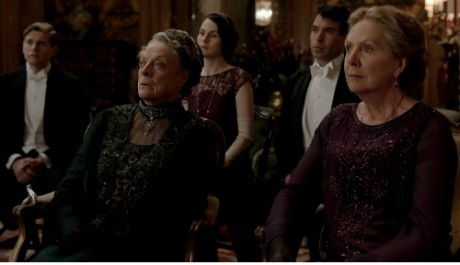 Downton Abbey 4x2 Violet and Isobel
