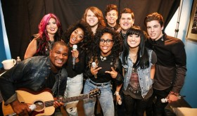 American Idol 2014 Top 9 I'm with the Band