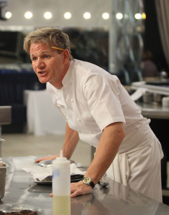 season premiere of the cooking competition series hell s kitchen and
