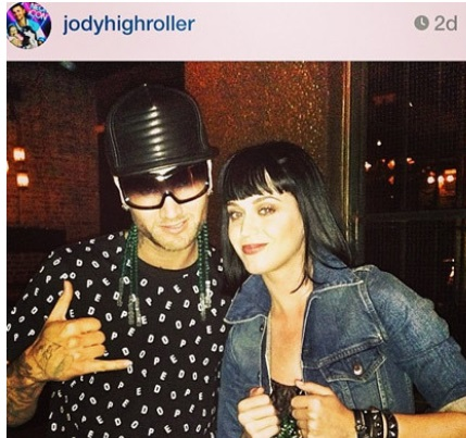 Dark Horse Singer Katy Perry Is Over John Mayer- Dating Rapper Riff Raff [PHOTO]