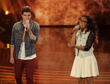 American Idol 2014 Spoilers - Sam and Malaya Duet