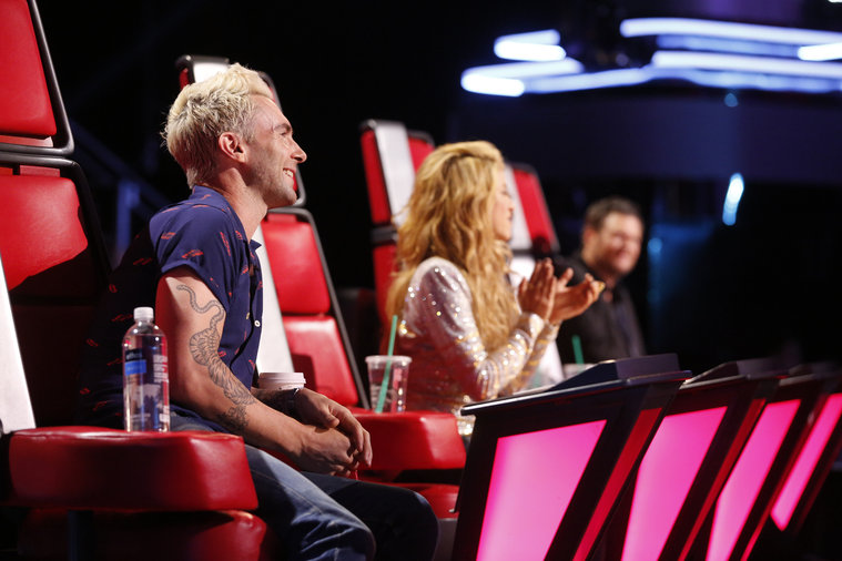 Last night the voice top 3 sang songs that the