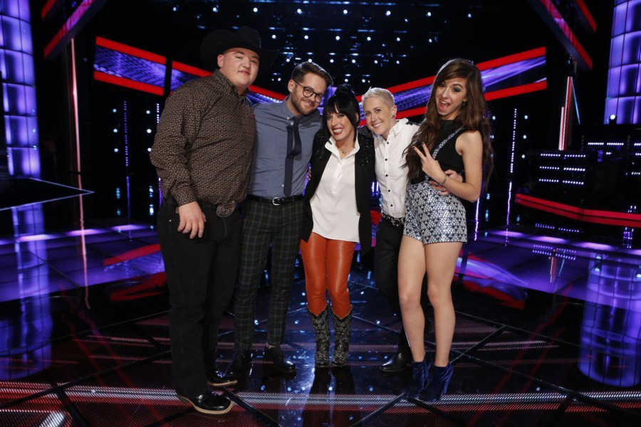 odds on favorite to win the voice 2014