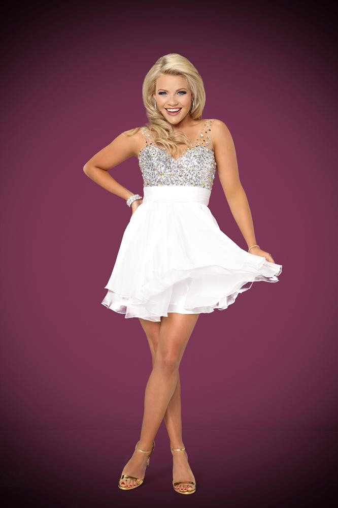 Witney carson gossip and gab for 1234 get on the dance floor star cast