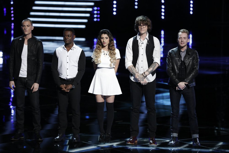 Who Went Home On The Voice 2014 Last Night? Top 20 Results