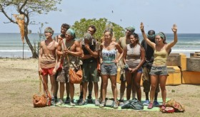 Who went home on Survivor 2014 last night-week 8