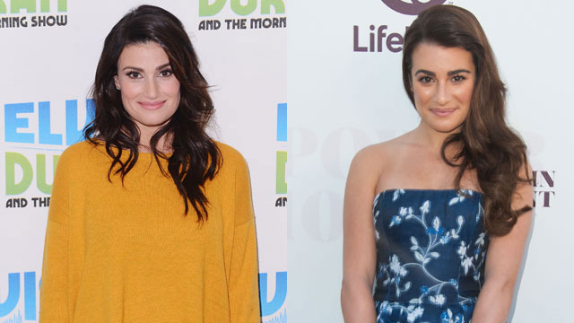 Glee's Lea Michele Covers Idina Menzel's Let It Go