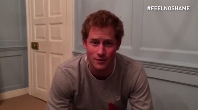 Prince Harry Shares Big Secret In Feel No Shame Video (VIDEO)