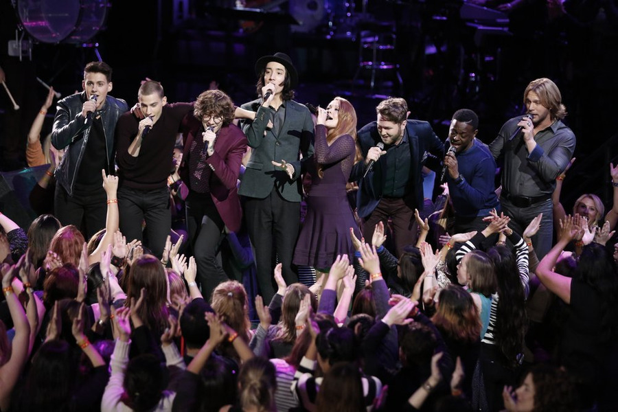 Who Was Voted Off The Voice 2014 Tonight? Top 8 Results