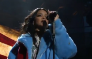 Rihanna Performs New Song American Oxygen