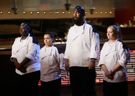 Hells kitchen 2015 season 14 results who went home in for Hells kitchen kids