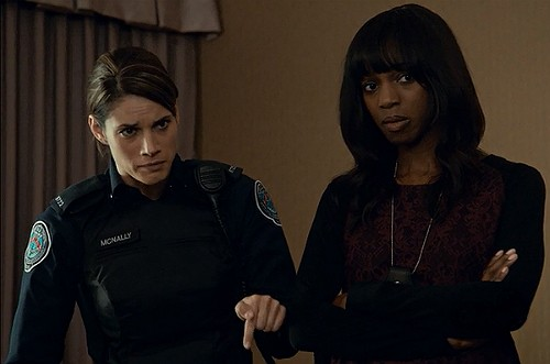 Rookie Blue 6x2 Andy and Traci set Ellen straight