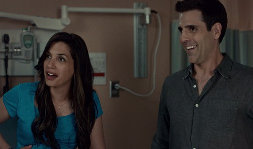 "Marlo: ""It's a girl?!""  Look at Sam's grin! Rookie blue 6x3 screencap"