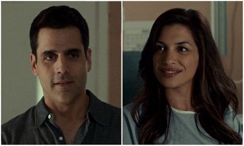 Sam and Marlo share a moment. Rookie Blue 6x3 screencaps