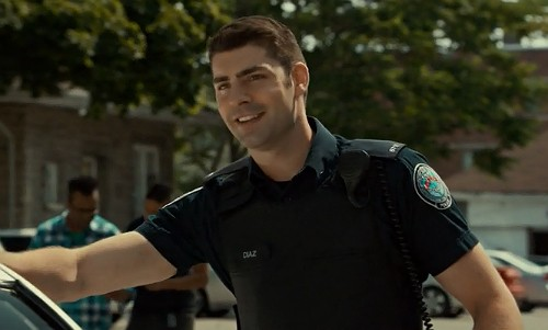 """Rookie Blue 6x4 screencap: Chris Diaz"