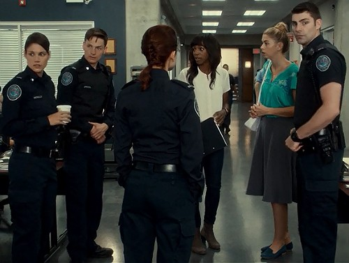 Rookie Blue 6x4 No one can  believe this chick!