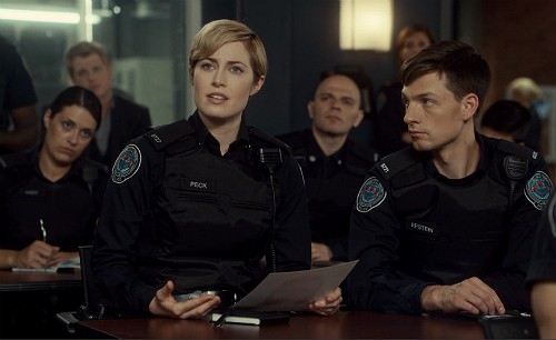 Rookie Blue 6x5 Gail and Dov