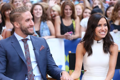 The Bachelorette 2015 Spoilers Kaitlyn And Shawn On Good Morning America VIDEO