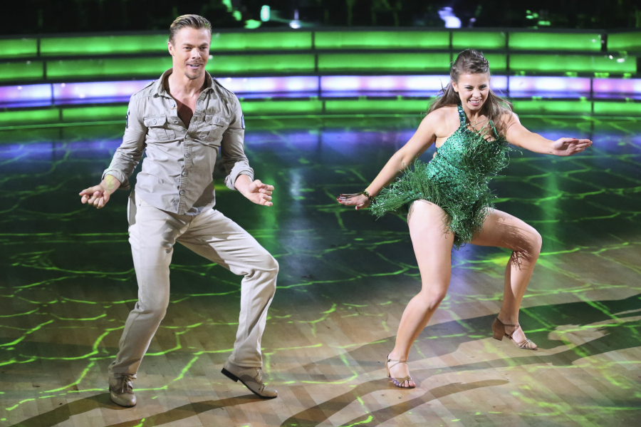 dwts bindi and derek relationship problems