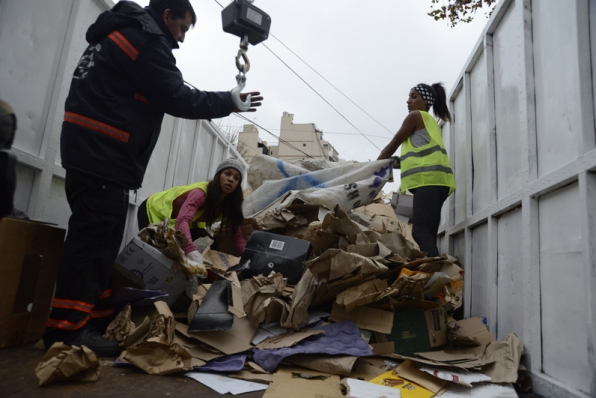 Dumpster diving and human race