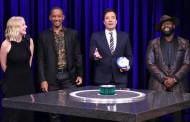 Will Smith & Kirsten Dunst Play Catchphrase With Jimmy Fallon (VIDEO)