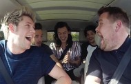 Carpool Karaoke with One Direction on Late Late Show (VIDEO)