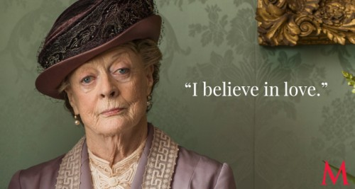 Maggie Smith as Violet Crawley, Dowager Countess of Grantham (Photo Credit: PBS)