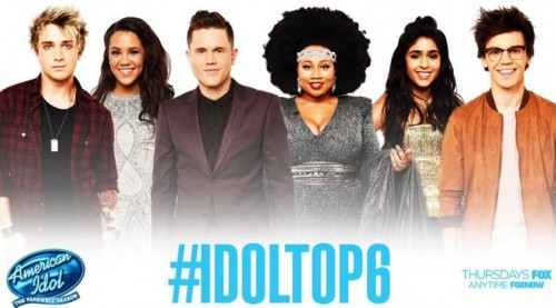 American Idol 2016 Spoilers - Idol Top 6 Results