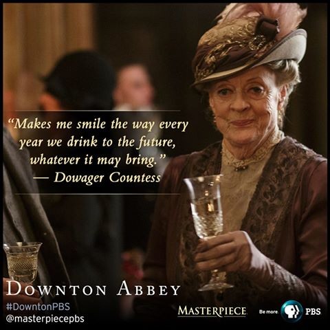 Maggie Smith as Violet Crawley, Dowager Countess of Grantham (Photo Source: Masterpiece PBS on Facebook)
