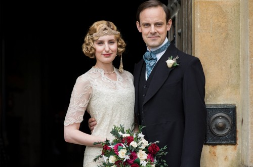 Laura Carmichael and Harry Hadden-Patton as the new Marquess and Marchioness of Hexham (Photo Source: Hypable)