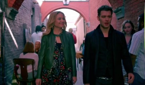 Cami and Klaus-The Originals (Klamille)
