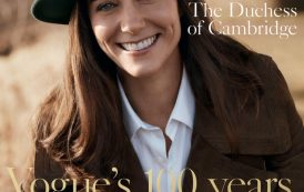 Kate Middleton Takes the First Cover Magazine and Shares Charlotte Pictures