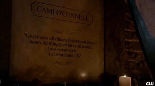 The Originals Season 3-Cami's Grave