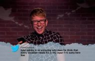 Tyler Oakley Reads Mean Tweets on Jimmy Kimmel Live (VIDEO)
